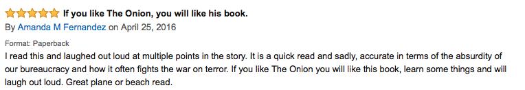 Amanda amazon review